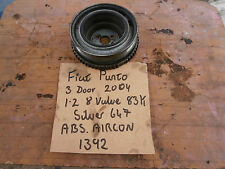 FIAT CRANKSHAFT PULLEY FROM PUNTO 1.2 16 VALVE 3 DOOR 2004 WITH AIR CON.
