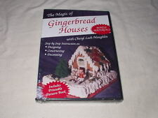 The Magic of Gingerbread Houses DVD NEW Step By Step Instruction How To Baking