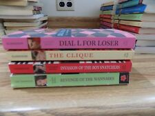 The Clique Series Book Lot of 4  Lisi Harrison