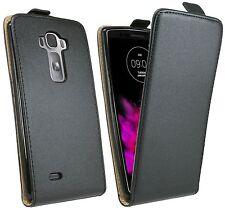Handytasche für LG G Flex 2 (H955) Case Cover Hülle Zubehör Flip Tasche Schwarz