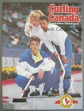 Original 1991-1992 Edition Curling Canada Canada's National Curling Magazine