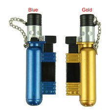 Jet Torch Windproof Cigar Cigarette Refillable Butane Gas Lighter AM-136 O