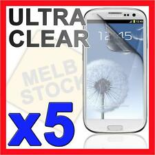5x Ultra Clear LCD Screen Protector Film Guard for Samsung Galaxy S3 i9300 SIII