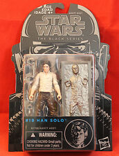 "Star Wars The Black Series Blue 3.75"" #19 Han Solo in Carbonite 2015 Hasbro"