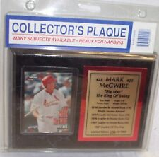 "Mark McGwire ""Big Mac"" Plaque 8"" X 6"" Limited Edition 1706 of 7000 New in Packag"