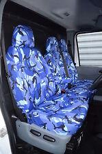 Furgone Ford Transit 00-13 Su Misura Impermeabile Blu Mimetico