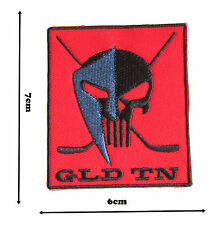Hockey Iron Sew On Embroidered Patch Badge Patches Logo Fancy Badges #310
