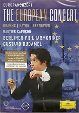 Dudamel - The European Concert, Region 0 DVD *NEW* Brahms Haydn Beethoven