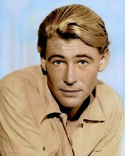 "PETER O'TOOLE 1962 IRISH BORN ACTOR MOVIE STAR 8X10"" HAND COLOR TINTED PHOTO"