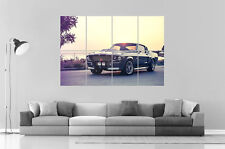 Ford Mustang Eleanor 1967  Wall Art Poster Grand format A0 Large Print