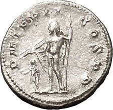 Gordian III 239AD Silver Authentic Ancient Roman Coin Zeus Jupiter Cult i53130