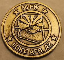 56th Fighter Wing Air Force Challenge Coin