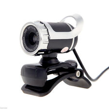 360°USB 2.0 1080P HD WebCam Web Camera Clip-on MIC for Desktop PC Laptops