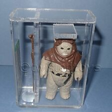 VINTAGE 1983 KENNER STAR WARS CHIEF CHIRPA LOOSE ACTION FIGURE AFA 85 NM+ RARE