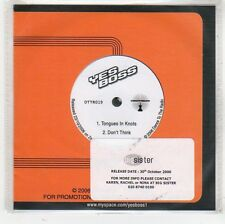 (FS930) Yes Boss, Tongues In Knots / Don't Think - 2006 DJ CD