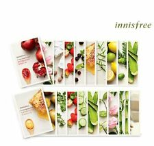 [INNISFREE] It's Real Squeeze Mask Sheet Variety 7PCS - Korean Cosmetic