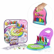 New Gelarti Designer Studio Creative Activity Stickers Gems Paints Official