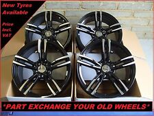 """1780 GBMF 19"""" Alloy Wheels To Fit BMW 1 2 3 Series E90 F30 4 5 Series 5x120"""