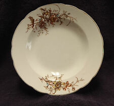 Ridgways Royal Semi-Porcelain Buckingham Pattern Rim Soup Bowl