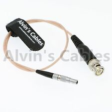 BNC plug to lemo 4 pin TIME CODE input adapter cable for Red Epic Scarlet