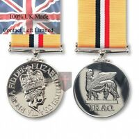 Official OP Telic IRAQ FULL SIZE Medal and Ribbon (100% UK made