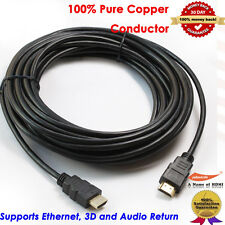 Gold HDMI-30-Feet-Value-V1.4 High Speed HDMI Cable with Ethernet,Audio,3D V1.4
