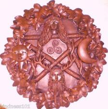 Latex Craft Mould To Make Gothic Style Pentagle Pentagram Plaque Art & Crafts,