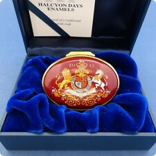Halcyon Days Box Presented by Her Majesty The Queen Christmas 2012