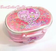 Sanrio My Melody 2-Layer Lunch Box Bento Food Container Snack Case Made In Korea