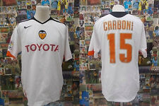 maglia rugby shirt maillot camiseta trikot VALENCIA CARBONI TG L PATCH
