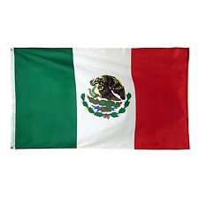 Mexico Mexican Flag 4x6 Foot Flag Banner (150 Denier) Super Poly Indoor/Outdoor