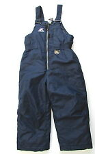 Kids Toddler Zeroxposur Blue Ski Bib Snow Pants Size 4T