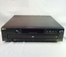 RCA RC5910P DVD CD Player 5 disc multi Carousel Changer Audio Video No Remote