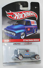 Hot Wheels Delivery Slick Rides Custom '32 Ford Sedan Delivery REAL RIDERS 1:64