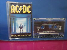 AC/DC Who Made Who Cassette