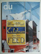 Du Zeischrift, Du Schweiz, Charles Demuth, amerikanische Kunst,