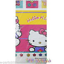 HELLO KITTY Vintage Blocks PAPER TABLE COVER ~ Birthday Party Supplies Decorate
