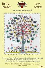 BOTHY THREADS LOVE SPRING BUTTERFLIES BY KIM ANDERSON COUNTED CROSS STITCH KIT