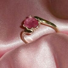 1.75 CT 8mm X 6mm OVAL SHAPE RUBY RING-.925 STERLING SILVER SIZE 6,7, OR 8