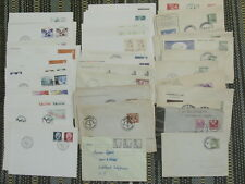 SWEDEN OLD COMMERCIAL & FDC EVENTS & SPECIAL POSTMARKS COLLECTION OF 46 COVERS