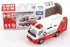 NEW JAPAN TAKARA TOMY TOMICA #119 MORITA FIRE ENGINE  DIECAST CAR 688686