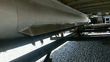 Weld on lifting strakes for Pontoons