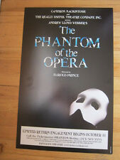 PHANTOM OF THE OPERA Poster Pantages Los Angeles 14x22