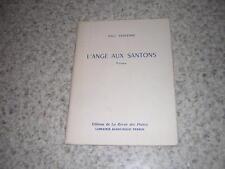 1954.l'ange aux santons / Paul Sentenac.envoi autographe.Respelido.Mistral