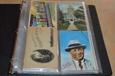 VINTAGE NOTRE DAME POST CARD COLLECTION IN BINDER!!! 71 POST CARDS TOTAL!!!