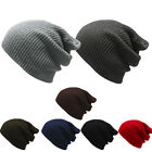 Fashion Men's Women's Knit Baggy Beanie Oversize Winter Hat Ski Slouchy Chic Cap