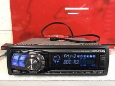 Radio coche alpine Cda-9831r Top SPEC CD estéreo reproductor de Mp3 Trasero aux Motorizado cara