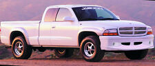 "97-04 Dodge Dakota Truck 2"" Xenon Urethane 4pc Fender Flares Kit Unpainted 8380"