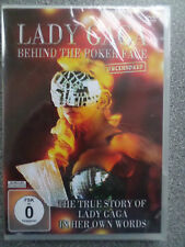 LADY GAGA - BEHIND THE POKER FACE UNCENSORED - DVD - (NEW & SEALED)