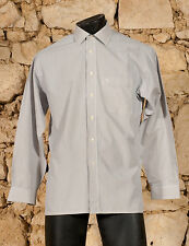 'PIERRE CARDIN' 80s REGULAR FIT SHIRT - UK/US 15 1/2 - EU 39 - MEDIUM - (Q)
